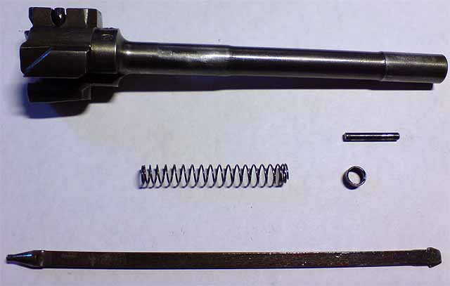 Tiger rifle bolt and firing pin