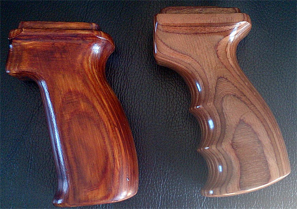 Laminated wood SVDS grip