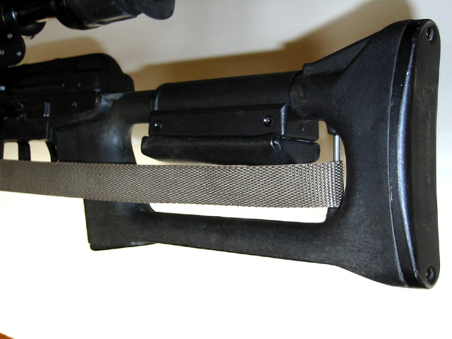 SVD buttstock with cheek pad down