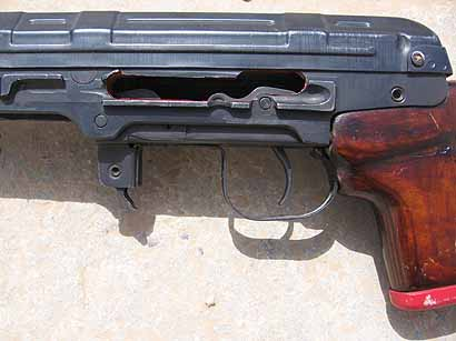 SVD cutaway showing trigger and hammer function