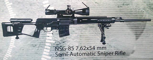 NSG-85 Chinese sniper rifle