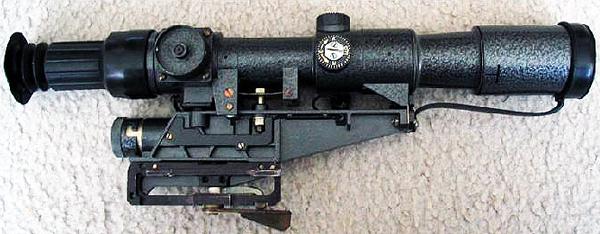 Dragunov dot net - Belomo 1P-21 Minuta Zoom Sniper Scope