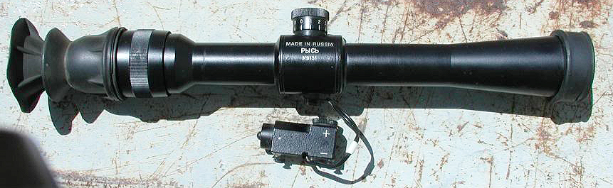 tochpribor lynx scope