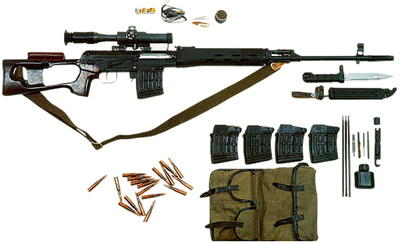 Izhmash SVD factory kit