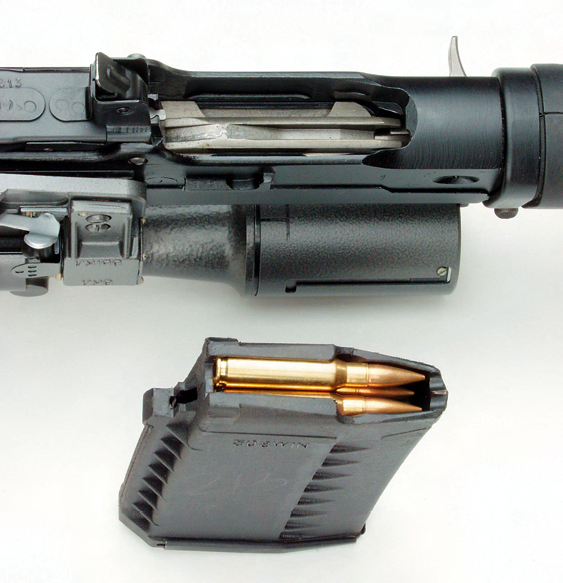 Tigr-308 magazine well