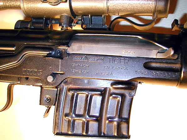 Tiger receiver markings